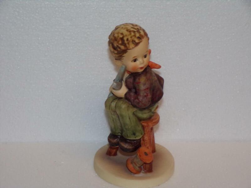 "VINTAGE GOEBEL HUMMEL 308 - LITTLE TAYLOR - TMK-6 -5.5"" TALL- MINT"
