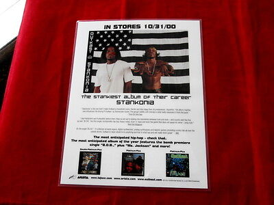 OUTKAST~ MEGA RARE COUNTER DISPLAY~ MINT~~STANKONIA ~ COLLECTABLES