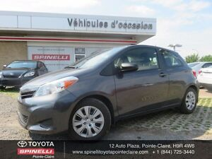 2013 Toyota Yaris AA PKG 5 SPEED BASE