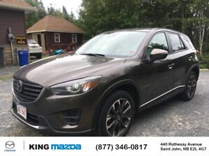 2016 Mazda CX-5 GT One Owner..Just Off Lease..AWD..Heated Lea...