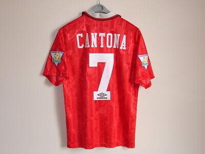 Flocage CANTONA Manchester United 1992 1993 1994 1995 1996 Velvet Name set