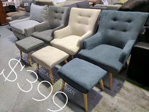 ARMCHAIRS, OTTOMANS, AND RECLINERS UP TO 80% OFF RRP Eumemmerring Casey Area Preview