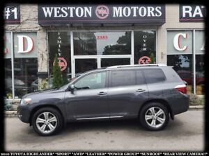 2010 Toyota Highlander SPORT*LTD*AWD*LEATHER*SUNROOF