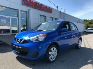 2017 Nissan Micra SV   $110 BI WEEKLY Fuel Efficient and Well Eq
