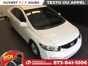 2009 Honda Civic Cpe DX-G FOU FOU FOU SEULEMENT 43698KM !! FAITE