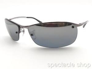 a83a77856aae ... spain ray ban rb 3183 004 82 63mm gunmetal polarized mirror sunglass  new authentic a84c8 17c0a