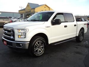 2015 Ford F-150 XLT SuperCrew 4X4 5.0L 5ft Box