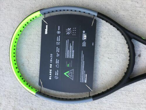 NEW - Wilson Blade 98, 3/8 grip,18X20 V7 Tennis Racket free shipping