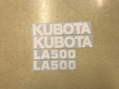 Kubota La500 Loader Decals