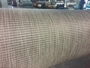 Marine Woven Vinyl Boat Flooring W/ Padding : Raven : 8.5u0027 Wide : Pontoon