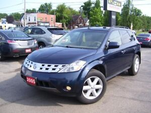 2005 Nissan Murano SE,AWD,Leather,Tinted,Alloys,Certified