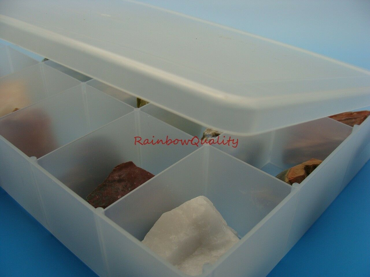 This Listing Is For 1 Rock And Mineral Collection In A Sturdy Collectors  Box With A Lid. 16 Premium Specimens Are Included. Buy One Collection Or  More Than ...