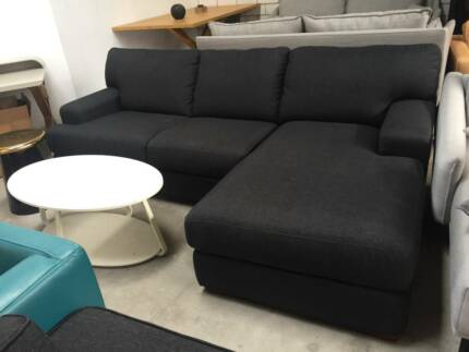 High Quality Fashion 2 Seater Fabric Modular Sofa With Chaise | Sofas |  Gumtree Australia Wyndham Area   Hoppers Crossing | 1178394344