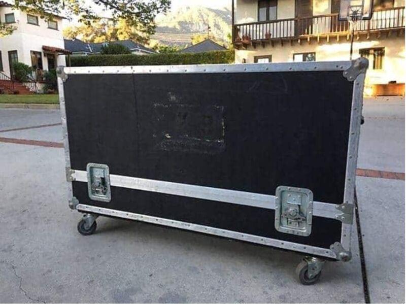 2 Rhodes Suitcase 1977 Black Travel Cases for 73-key! RARE