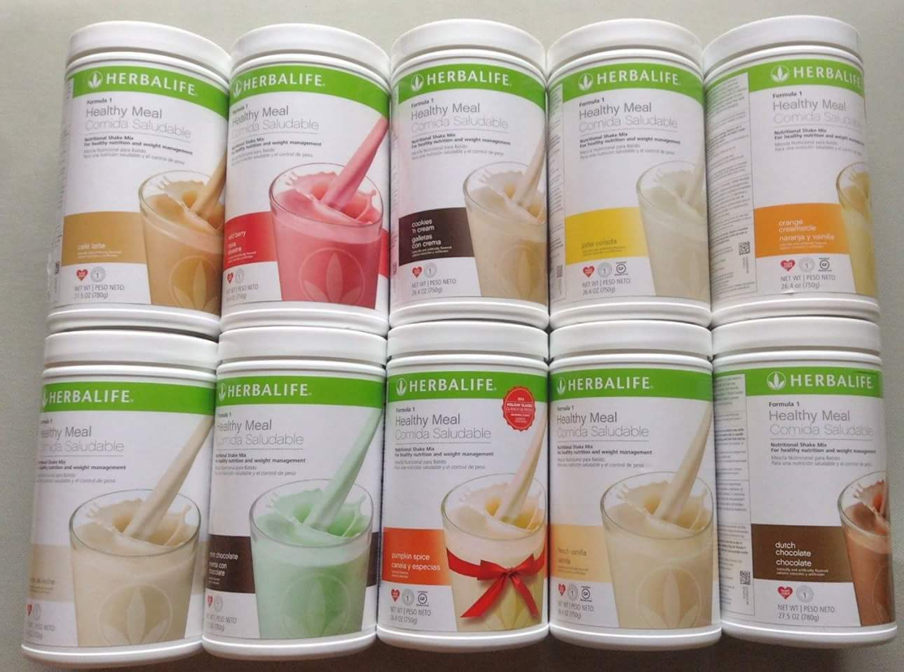 Изображение товара NEW Herbalife Formula 1 Healthy Meal Nutritional Shake Mix (Buy 3 / $5 Discount)