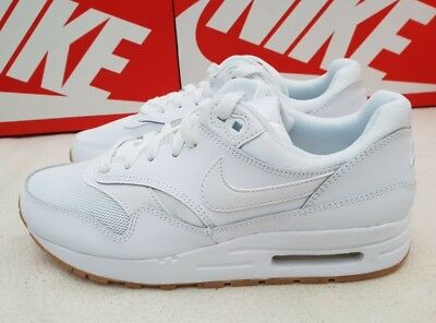 fe8599d43c9 NIKE OLDER KIDS TRAINERS SNEAKERS AIR MAX 1 (GS) WHITE 807602 113 - RRP