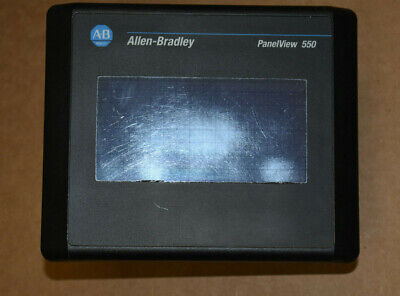 Allen Bradley Panelview 550 Touch Screen 2711-t5a16l1 B Rev.c Frn 4.41