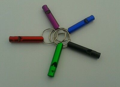FREE ENGRAVING (PERSONALIZED) Aluminum Whistle / Keychain
