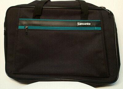 Samsonite Softside Valet Carrying-On Garment Bag w/ Lock,Key Handle Strap Black