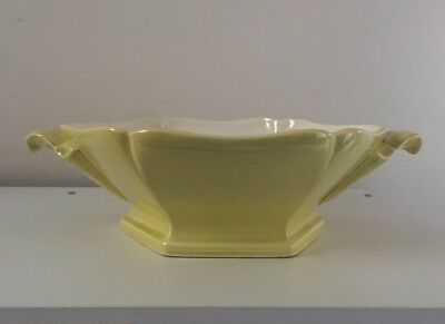- Red Wing Plum Blossom Pottery Casserole Dish Citron Yellow/Chartreuse