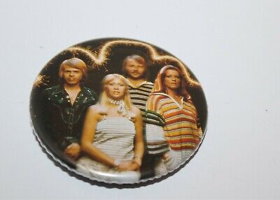 Abba Group Photo Badge Music Collectable (Lot 12)