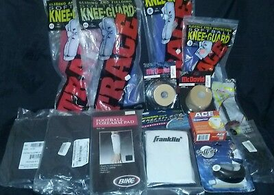 Large Lot of Sporting Goods Pads Wraps Guards Supporter ~ Free Shipping!