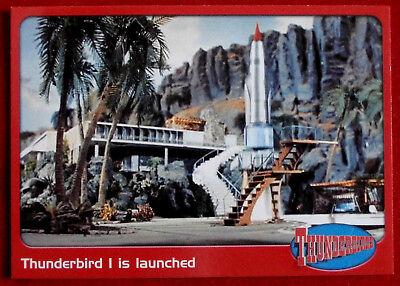 THUNDERBIRDS - Thunderbird 1 is Launched - Card #16 - Cards Inc 2001