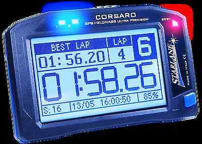 Lap Timer - Starlane Corsaro GPS Lap Timer Data Acquisition Wireless Touchscreen Auto M/C
