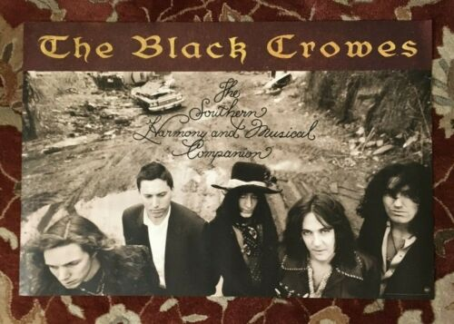 THE BLACK CROWES  The Southern Harmony  rare original promotional poster