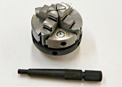 2 - 4 Jaw Self Centering Lathe Chuck With M14-1 Mount  L081