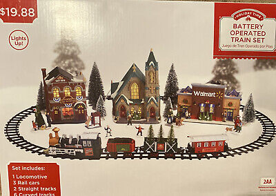 Holiday/Christmas Time Battery Operated Train Set