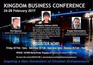 Kingdom Business Conference Tingalpa Brisbane South East Preview