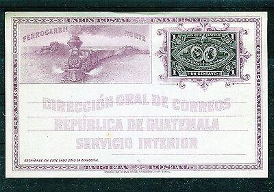 Ungebrauchte Ganzsache Guatemala - b0585