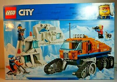 LEGO CITY Lego City Arctic Expedition Snow Mobile Truck 60194 New!