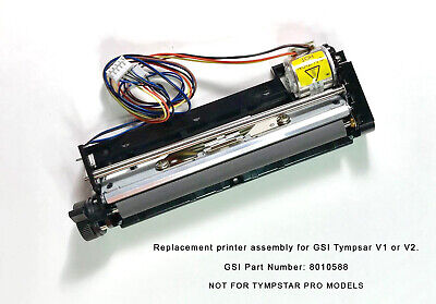 New Grason Stadler Tympstar Replacement Printer Assembly - Tympanometer