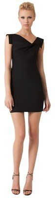 Black Halo mini Black Jackie O Dress 10 NWT