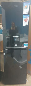 e457 black beko 50cm fridge freezer new with manufacturers warranty can be delivered or collected
