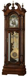 Howard Miller 611-142 Edinburg - Traditional Cherry Grandfather Clock - 611142