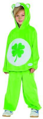 Glücksbärchi Kleeblatt Kinder Kostüm Fasching Pyjama Karneval Bär - Glücksbärchi Kostüm Kinder
