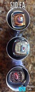 MOLSON CANADIAN NHL RINGS or combo deal!!