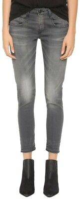 R13 Boy Skinny Jeans in Slate Gray Vintage Wash 25x26, used for sale  Commerce Township