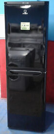 c456 black indesit 50/50 fridge freezer new with manufacturer warranty can be delivered or collected