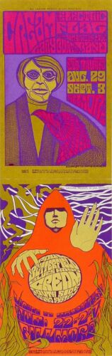 CREAM Eric Clapton Electric Flag  Butterfield Fillmore Concert Handbills 1967