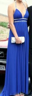 Size 8-10 floor length formal dress