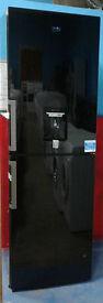 c453 black beko 50/50 fridge freezer with drinks dispenser new with full manufacturer warranty