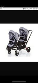 ABC zoom tandem pushchair