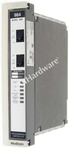 Schneider Electric PC-E984-385 984-385 Series 800 MODICON Controller 984 CPU