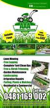 AAA Lawn Mowing & Landscaping Blacktown Blacktown Area Preview
