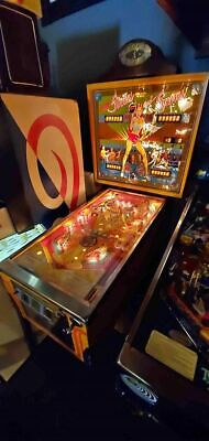 1978 Bally Strikes and Spares Pinball Machine Working & Plays Well Fun Game