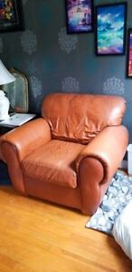 Two Large Armchairs